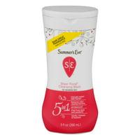 Summer's Eve Sensitive Skin Cleansing Wash, Sheer Floral, 9 fl oz