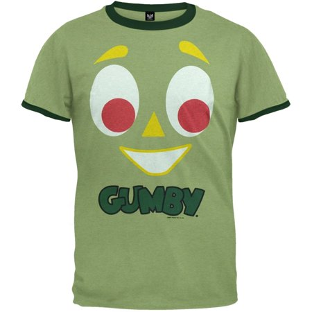 - Gumby - Face Ringer T-Shirt