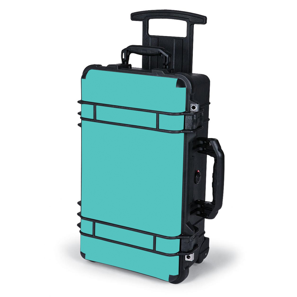 Skin Decal Wrap For Pelican Case 1510 / Turquoise Color