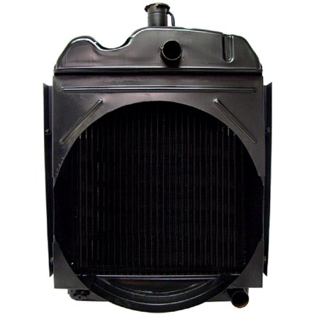 - New Oliver 550 Tractor Gas & Diesel Radiator with 3 Rows 7 Fins Per Inch