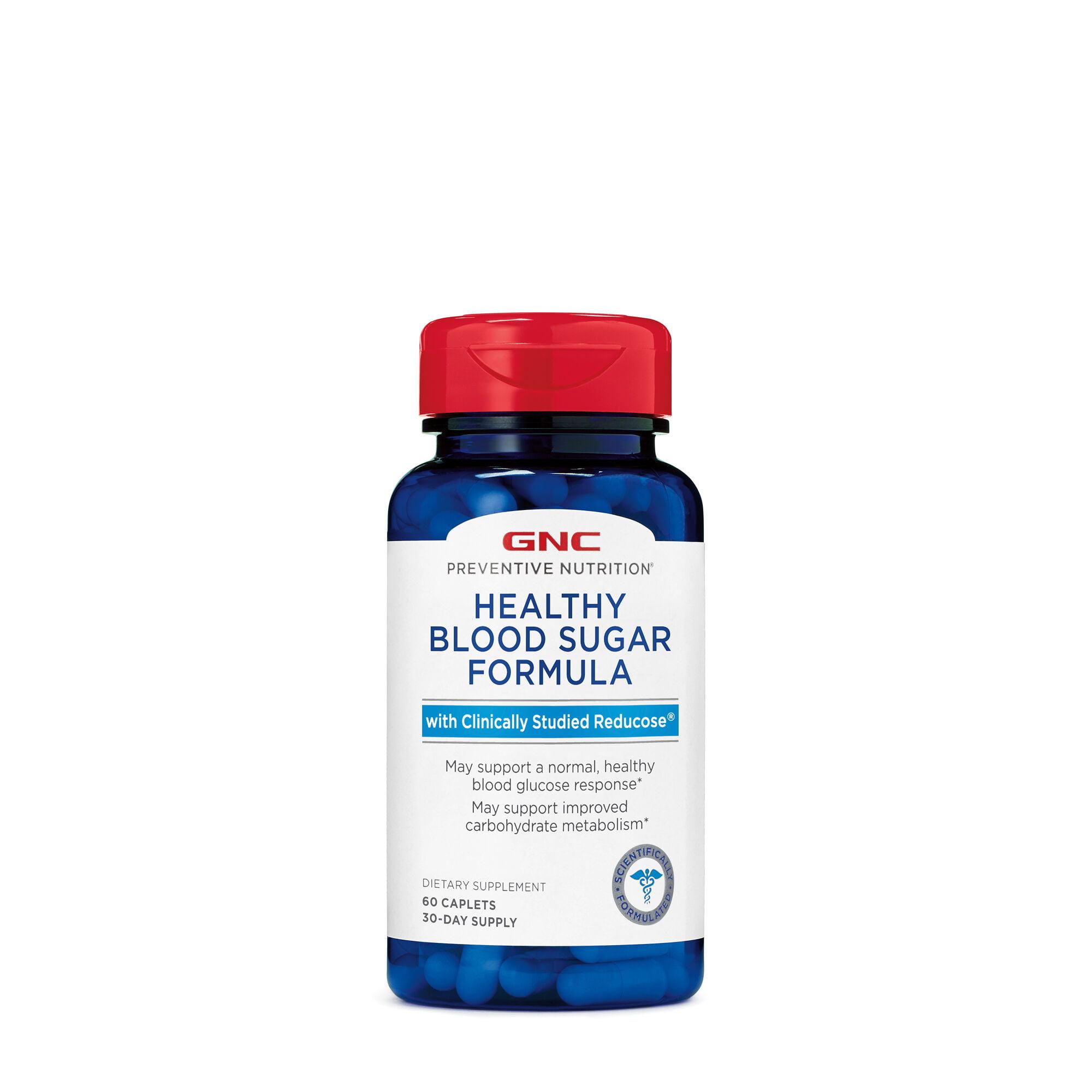 GNC Preventive Nutrition Healthy Blood Sugar Formula with ...