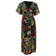 Spense Women's Floral Print Belted Dress