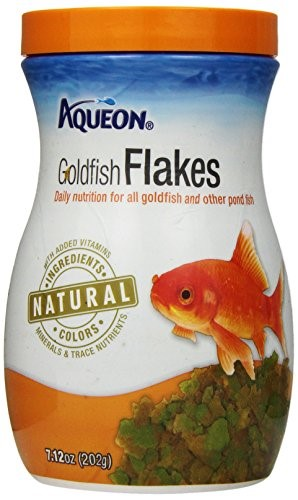 Aqueon Goldfish Flakes Fish Food, 7.12oz by All Glass Aquarium Co. Inc