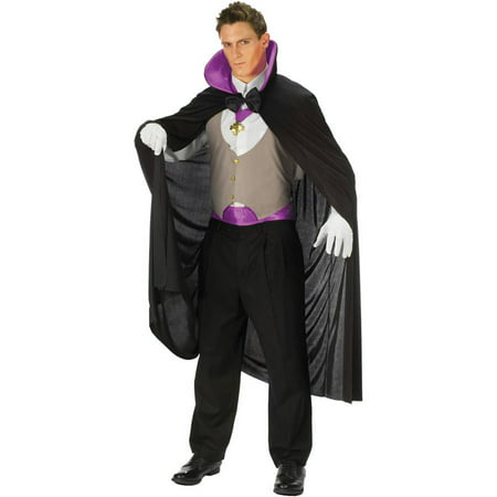 Purple Vampire Deluxe Men's Adult Halloween Costume