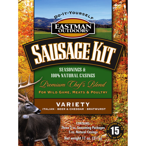 Eastman Outdoors Variety Sausage Kit, 15-lbs. by Eastman Outdoors