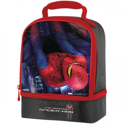 THERMOS K32013006 Spider-Man Dual Soft Lunch Kit