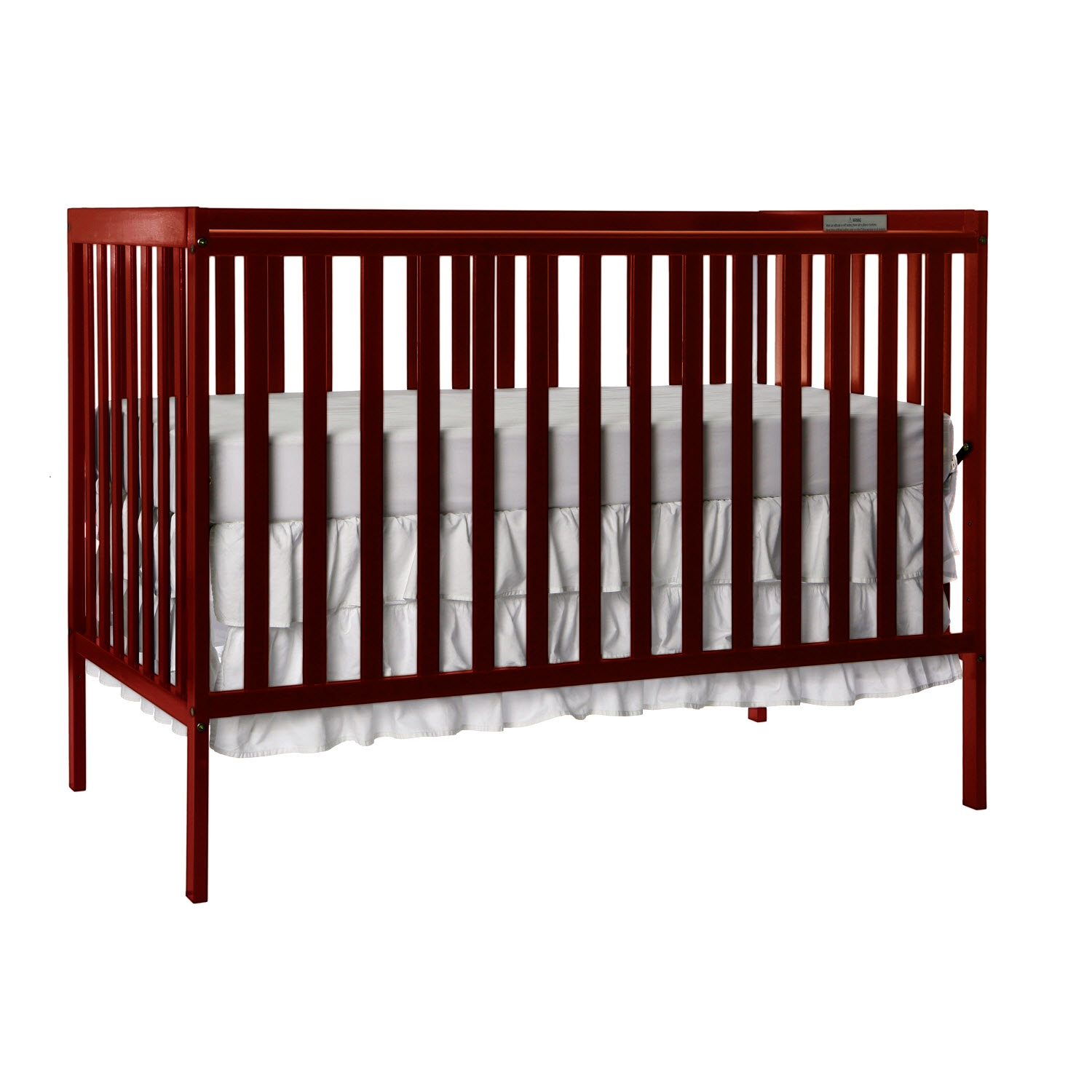 Dream On Me Synergy 5-in-1 Convertible Crib Espresso