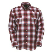 Outback Trading Shirt Mens Long Sleeve Horracks Performance Red 42643