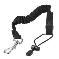 Elastic Paddle Leash Kayak Canoe Safety Fishing Rod Rowing Boats Coiled Lanyard Cord Tie Rope