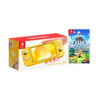 2019 New Nintendo Switch Lite Yellow Bundle with The Legend of Zelda: Link's Awakening NS Game Disc - 2019 New Game!