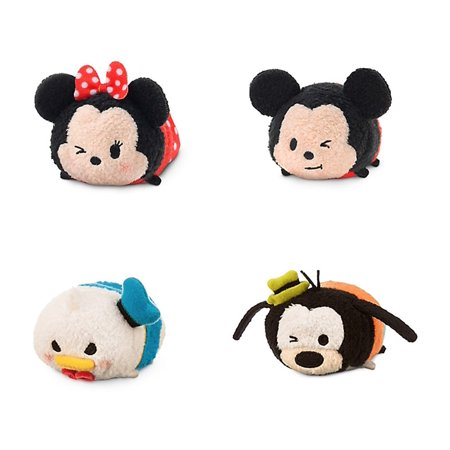 Mickey Mouse And Friends Tsum Tsum Mini Plush Figures Mickey
