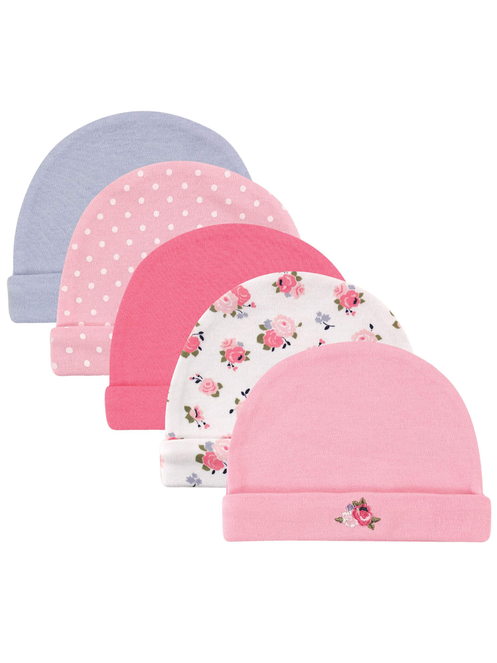 Luvable Friends - Baby Girl Caps 780128cb33b