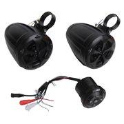 Best Utv Speakers - Pyle PLUTV46BTA 4-Inch Off-Road/Marine Bluetooth Speakers With Wireless Review