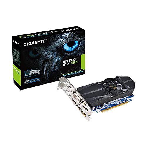Gigabyte Ultra Durable 2 Gv-n75toc-2gl Geforce Gtx 750 Ti Graphic Card - 1.03 Ghz Core - 2 Gb Gddr5 Sdram - Pci Express 3.0 X16 - Low-profile - 5400 Mhz Memory Clock - 4096 X 2160 - (gv-n75toc-2gl)