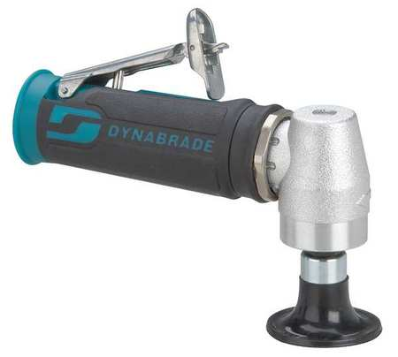 Right Angle Air Disc Sander,Ind,0.4 HP DYNABRADE 47820 by Dynabrade