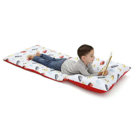 "Disney Cars Deluxe Easy Fold Toddler Nap Mat - 26"" x 62"""