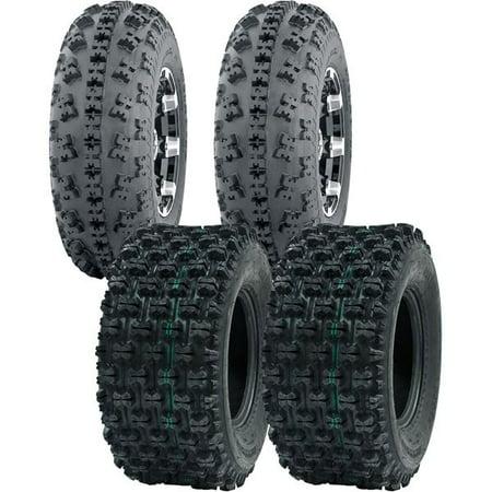 21X7-10, 20X10-9 OCELOT ATV TIRE SET ALL 4 TIRES HONDA TRX 300EX 400EX 400X