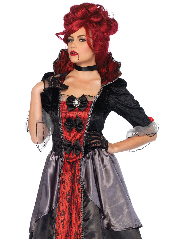 Leg Avenue Women's Blood Countess Vampire Costume, Large ...