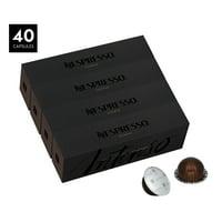 Nespresso Vertuo Coffee Capsules, Intenso - 40 Count