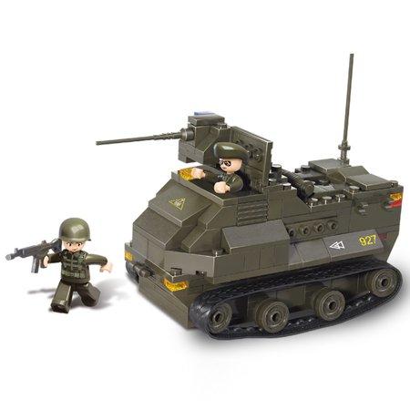 Toy Armor (Sluban Military Blocks Army Bricks Toy Amphibious Armored Car fits)