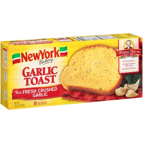 New York Mamma Bella's Recipe Garlic Bread, 7 oz, 2 count ... Garlic Bread Brands