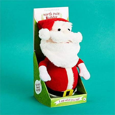 Cupcakes Cartwheels Speak Repeat Plush Santa