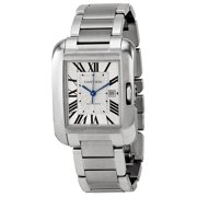 Cartier Tank Anglaise W5310009 Stainless Steel Automatic Men's Watch