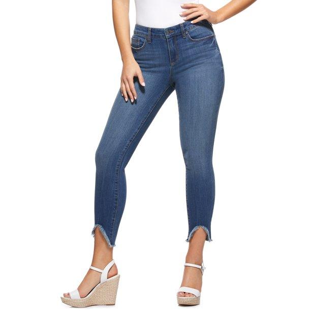 Sofia Jeans by Sofia Vergara Sofia Skinny Mid Rise Stretch Ankle Jeans, Women's