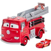 Disney/Pixar Cars Stunt and Splash Red with Exclusive Color Change Lightning McQueen Vehicle