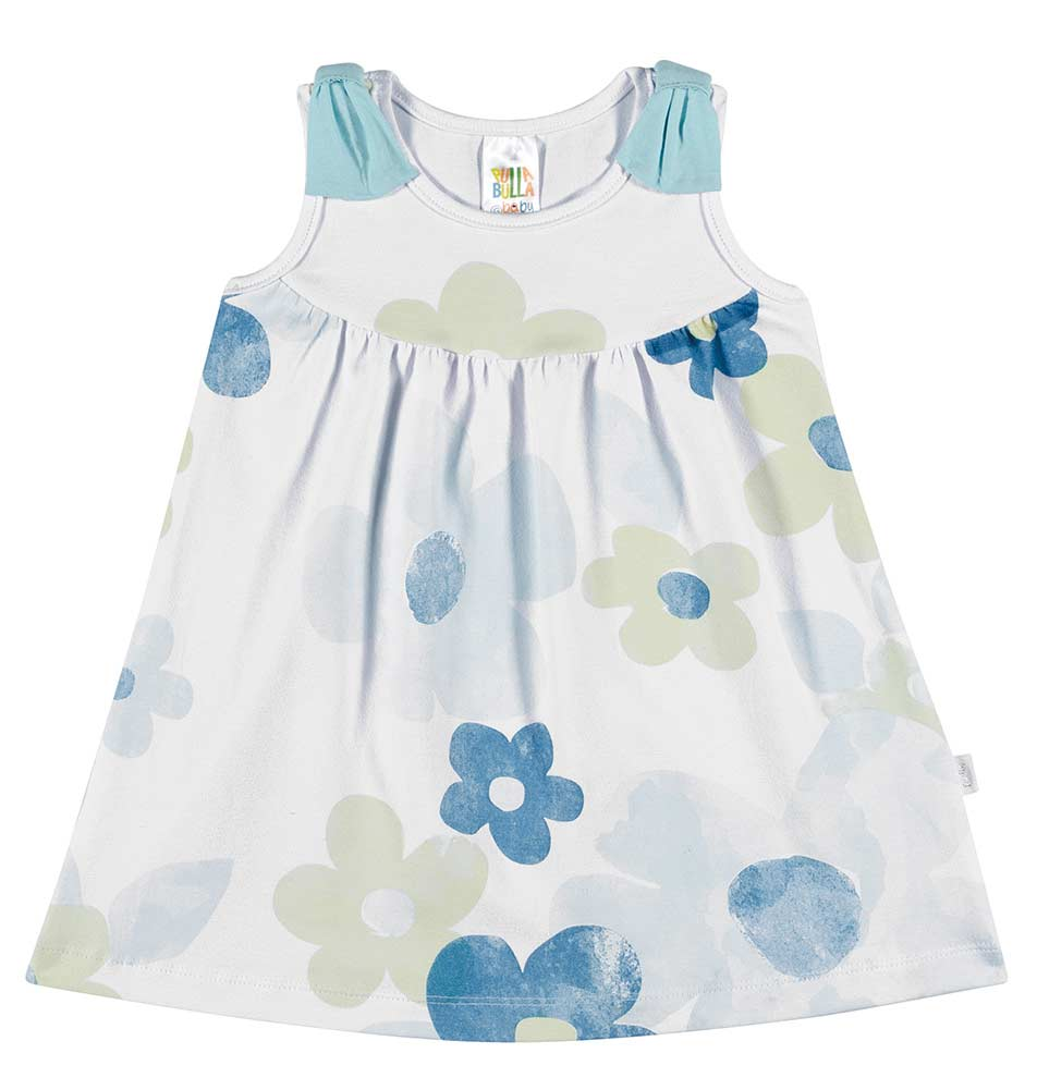 Pulla Bulla Baby Girl Floral Print Dress ages 3-12 months