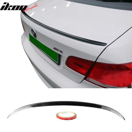 M3 Style Trunk Lip (Fits 07-13 BMW 3-Series E93 M3 Style Trunk Spoiler Lip Wing - CF )