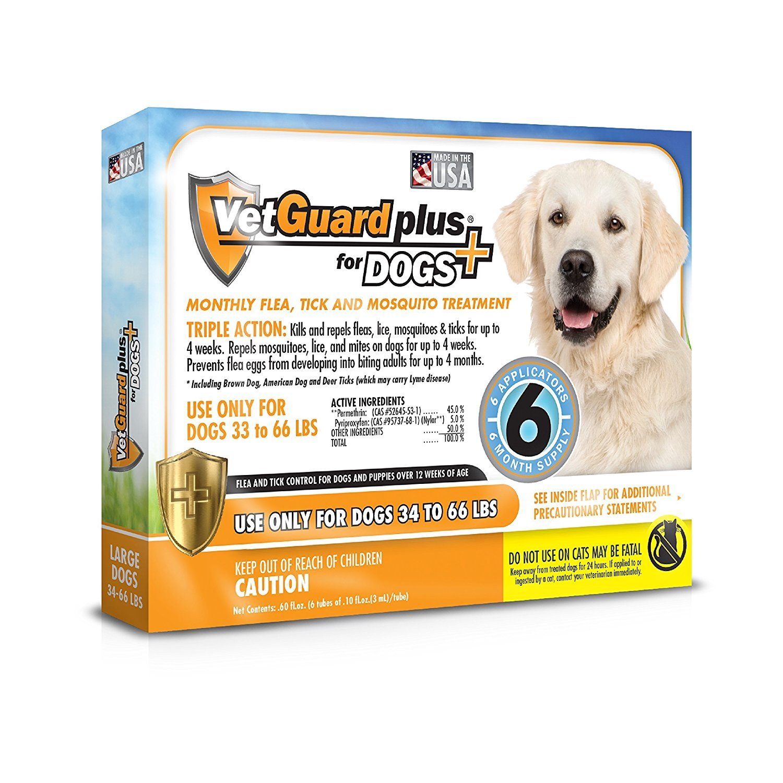 VetGuard Plus Flea & Tick Treatment for Dogs