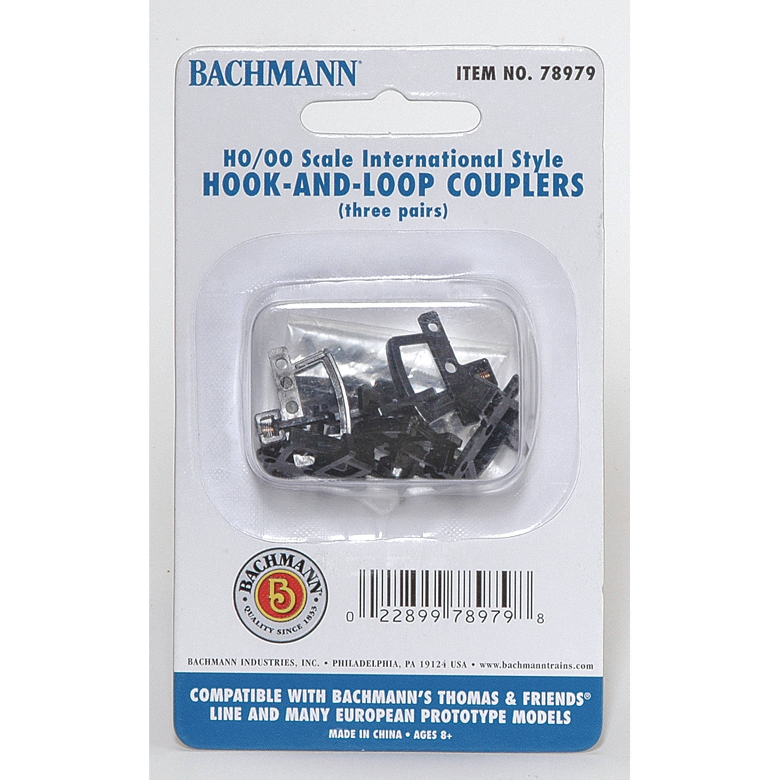 Bachmann Trains Hook-and-Loop Couplers (3 pair pack), Appropriate for Most Thomas and... by Overstock