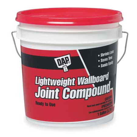 - Dap 10114 1gal Lightweight Wallboard Joint Compound, Pail