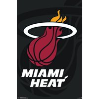 Miami Heat 22'' x 34'' Logo Team Poster