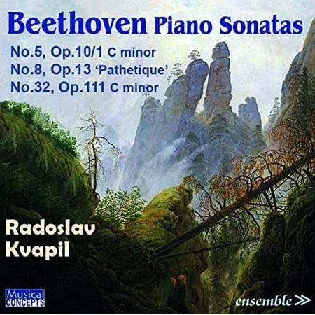 BEETHOVEN: Piano Sonatas No. 5 Op.10/1, No.8 Op. (Beethoven Piano Sonata No 8 Op 13)