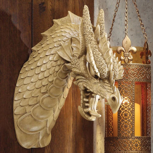 Design Toscano Head of the Beast Dragon Wall D cor