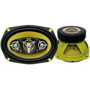 """Best 6x9 Car Speakers For Basses - Pyle PLG69.8 6x9-"""" 500-Watt 8-Way Speakers Review"""
