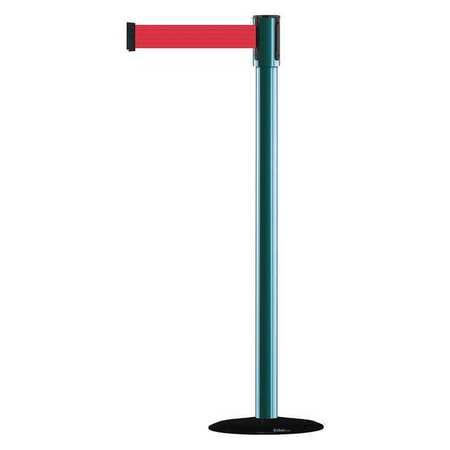TENSABARRIER 890B-33-28-28-MAX-NO-R5X-C Slimline Post,Red,Green Post Finish