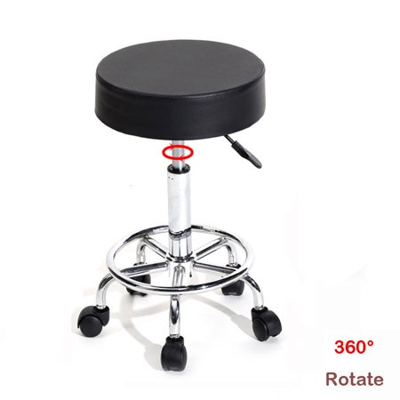 Pleasing Zimtown Rolling Adjustable Hydraulic Swivel Stool Tattoo Facial Massage Spa Chair Black Alphanode Cool Chair Designs And Ideas Alphanodeonline