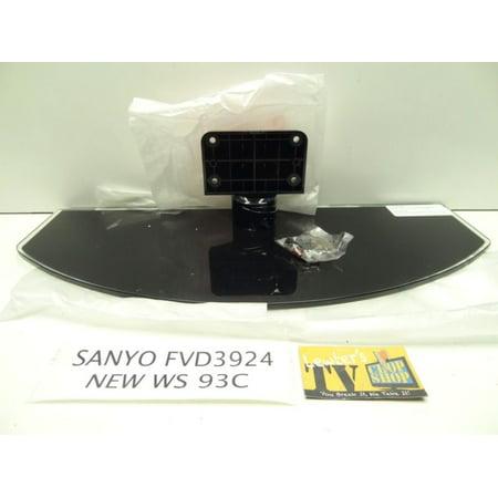 NEW Sanyo FVD3924 Pedestal Stand W/ Screws 93C (Sanyo Tv Stand)