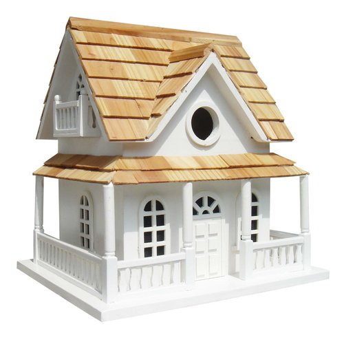Home Bazaar Classic Series Cape May Cottage 10.5 in x 10.5 in x 11 in Birdhouse by Bird Houses