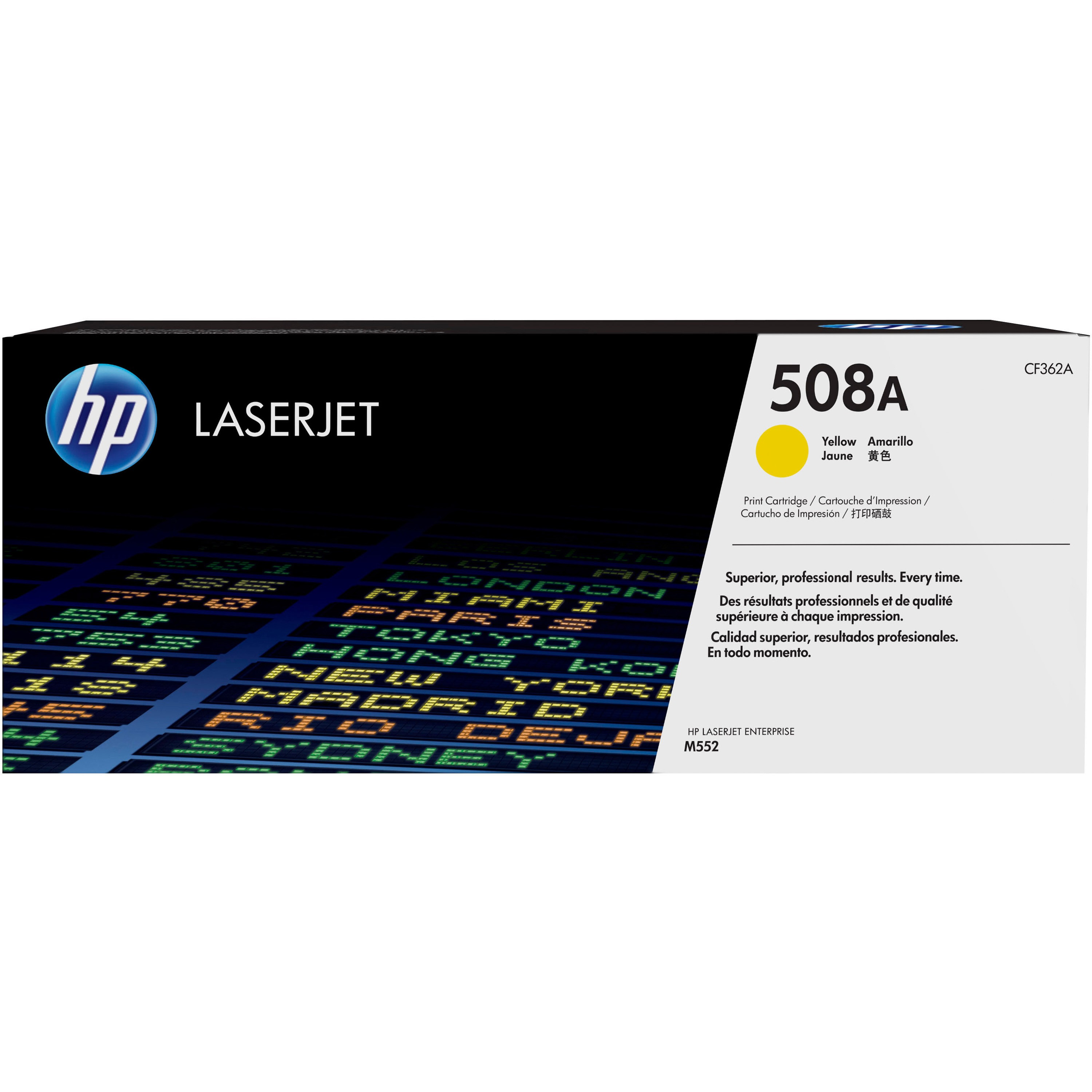 HP 508A (CF362A) Yellow Original LJ Toner Cartridge