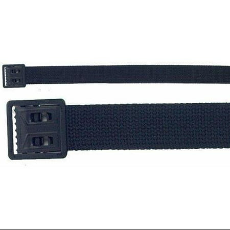 Web Belt Open Face Black Buckle - Black (Face Buckle)