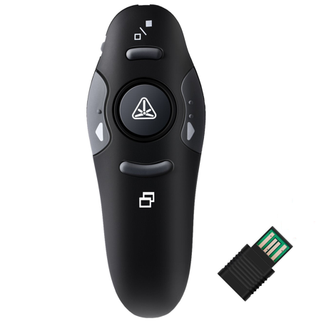 Powerpoint Presentation Remote Rf 2 4Ghz Wireless Usb Presenter Laser Pointer