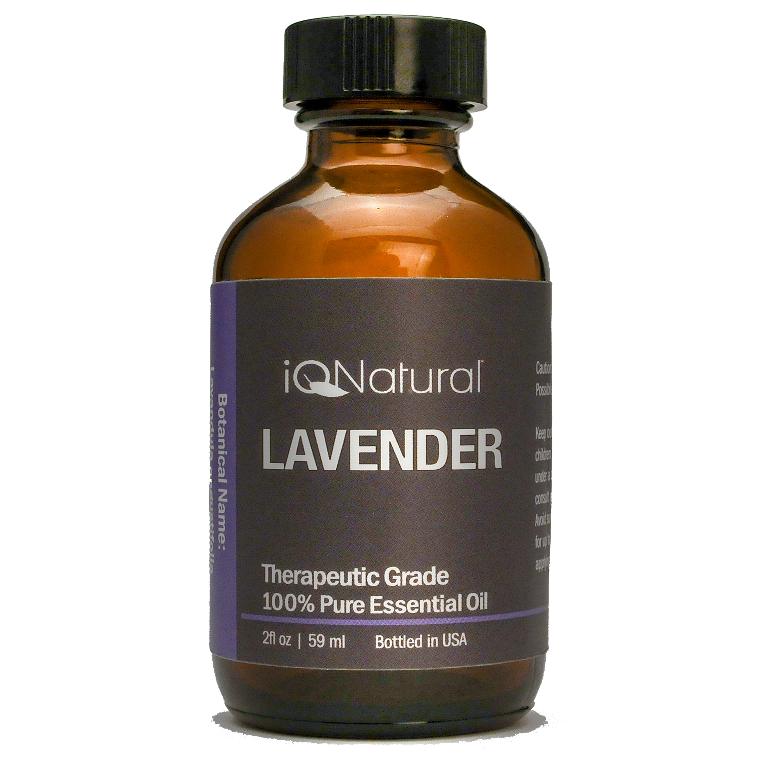 IQ Natural 100% Pure  Undiluted LAVENDER Essential Oil Therapeutic Grade 2 Oz