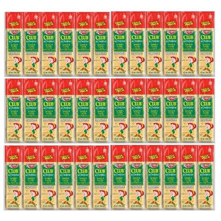 Keebler Club & Cheddar Cheese Sandwich Crackers - 36 pack