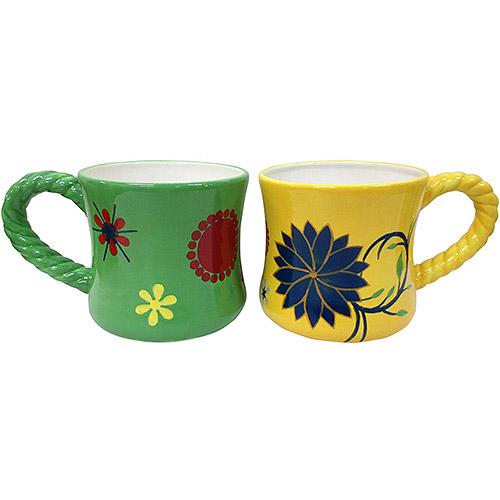 Coffee Mug Ceramic Planters Set Of 2 Best Garden Planters