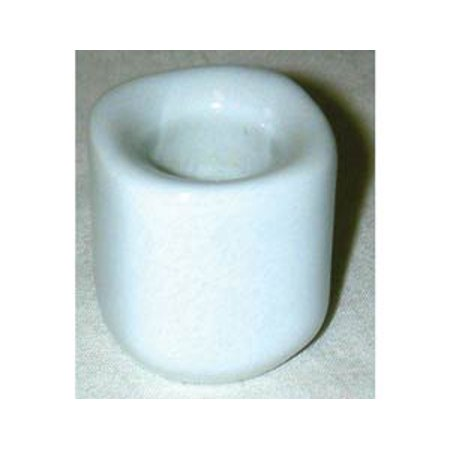 White Ceramic Mini Chime Candle Holder of Simplicity