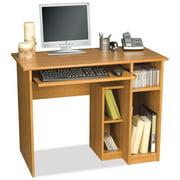 Bestar Basic Computer Desk-Cappuccino Cherry